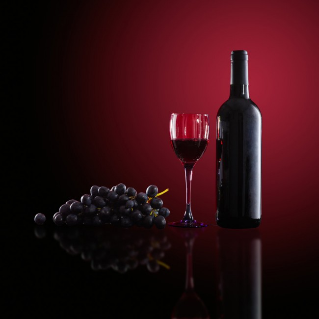 Red Wine Wallpaper Wall Mural
