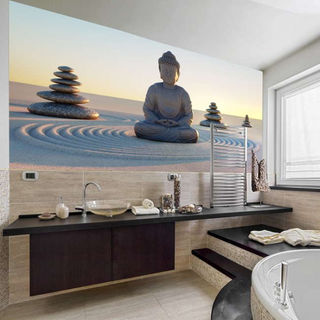 buddha figur fototapete religion tapete schlafzimmer foto inneneinrichtungen. Black Bedroom Furniture Sets. Home Design Ideas
