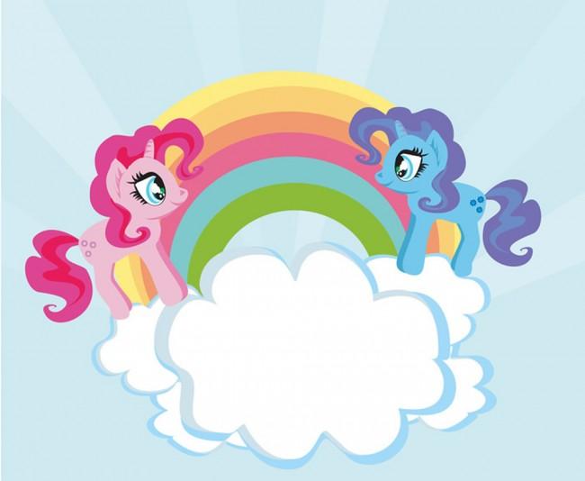 Einhorn Regenbogen Fototapete Pony Tapete Mädchen Kinderzimmer Foto  Inneneinrichtungen
