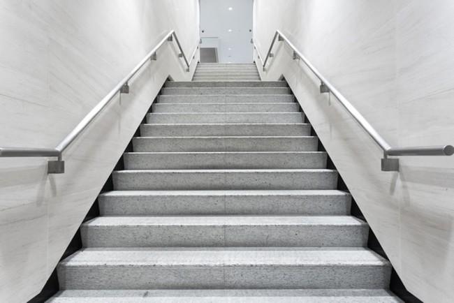 Escalier noir et blanc Papier Peint Photo 3D Papier peint Chambre ...