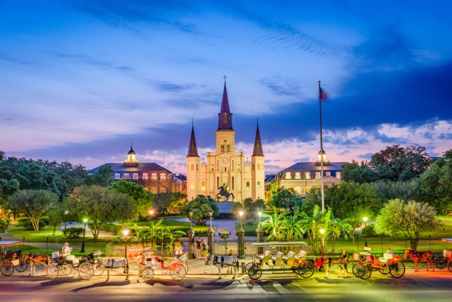 Jackson Square New Orleans Wallpaper Wall Mural