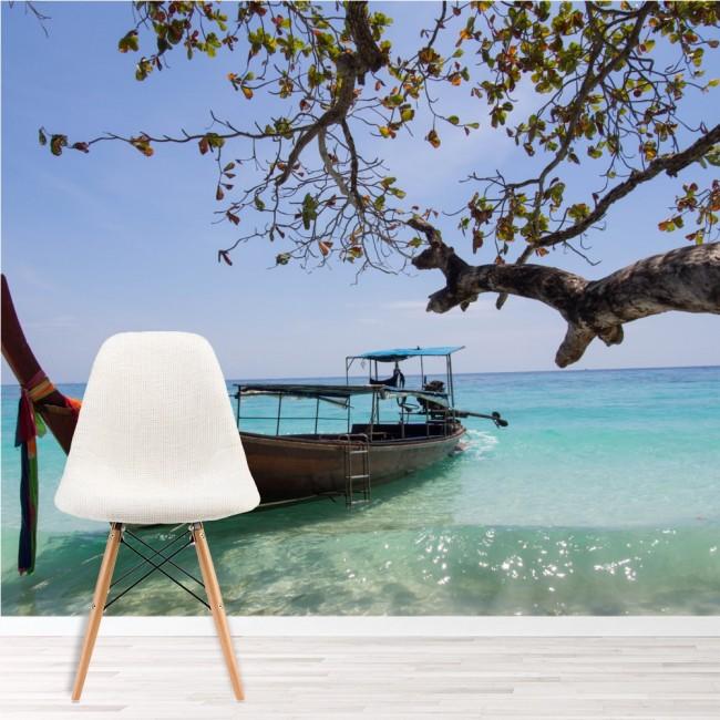 Oceano tropicale Murale Thailandia Spiaggia Sfondo Camera da letto ...