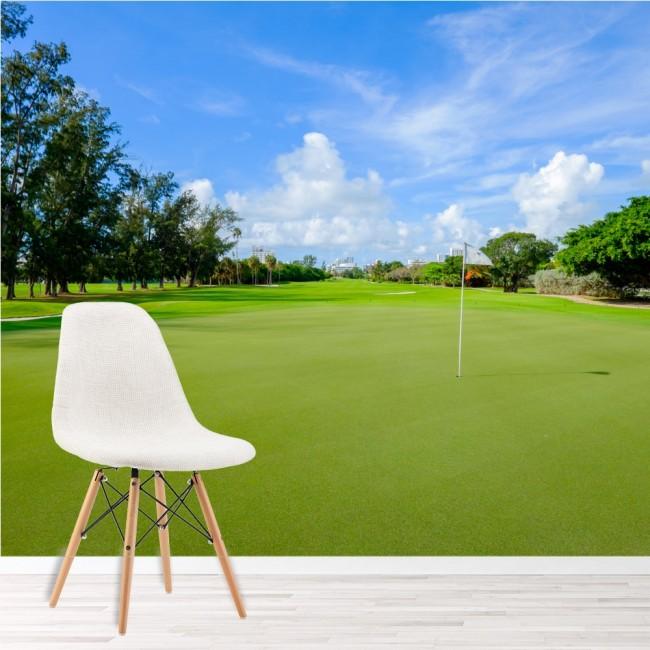Incroyable Golf Fairway Wall Mural Golf Wallpaper Sports U0026 Hobbies Photo Home Decor