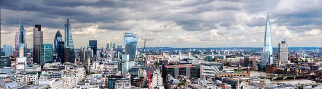 London Skyline Panorama Wallpaper Wall Mural