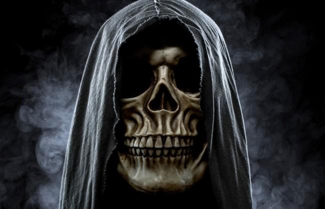 Grim Reaper Wall Mural Wallpaper