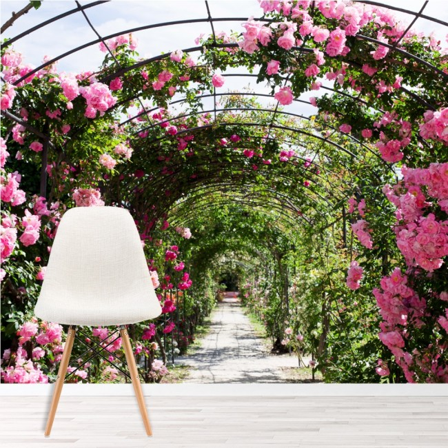 Rose flower garden wall mural pink floral wallpaper bedroom photo rose flower garden wall mural pink floral wallpaper bedroom photo home decor mightylinksfo