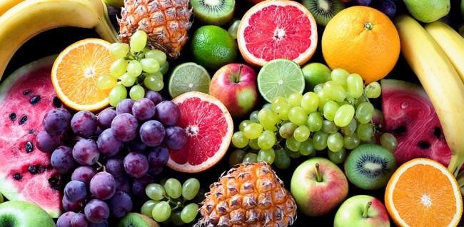 Fresh Fruit Kitchen Wallpaper Wall Mural