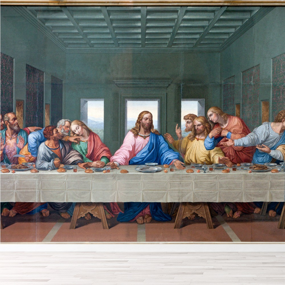 The Last Supper Wallpaper Wall Mural