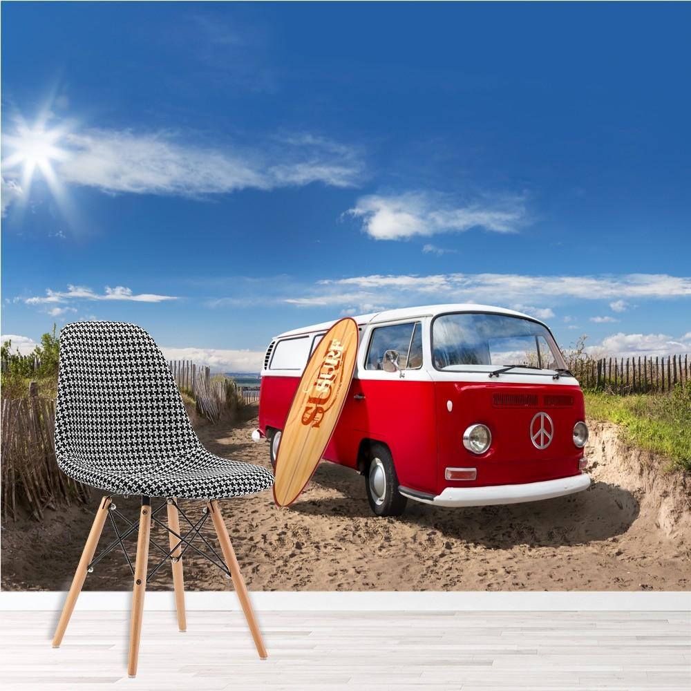 Volkswagen Licensed Product VW Multi Coloured Campervans Umbrella