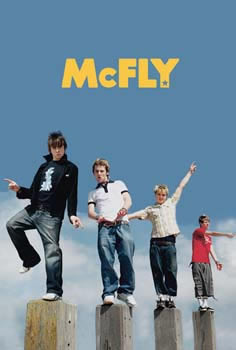 Mcfly Band 91cm x 61cm Poster