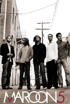 Maroon 5 Band 91cm x 61cm Poster